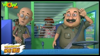 Motu Patlu New Episode | Cartoons | Kids TV Shows | Motu Patlu The Bus Driver | Wow Kidz