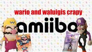 Wario and Waluigis crapy amiibo (SMR Long)