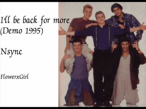 [DL] I'll be back for more (demo 1995) Nsync