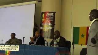 Journée d'Accueil et d'intégration des Étudiants sénégalais de Montréal.