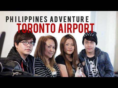Philippines Adventure | Packing & Toronto Airport