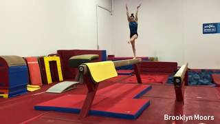 Kenzo Shirai 4.5 + 1/1, Brooklyn Moors, MyKayla Skinner in Training