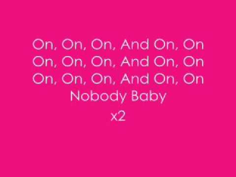 Keith Sweat - Nobody Lyrics