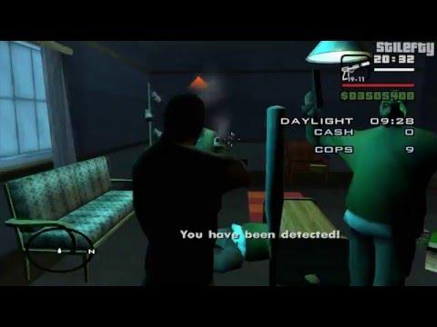 GTA San Andreas - Burglary [Infinite Sprint Reward]