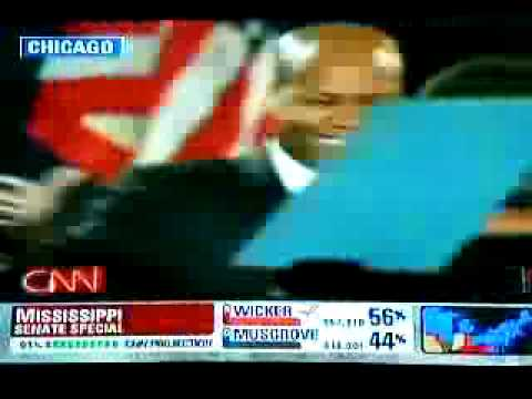 Barack Obama Wins! Victory Speech US President 3 of 3