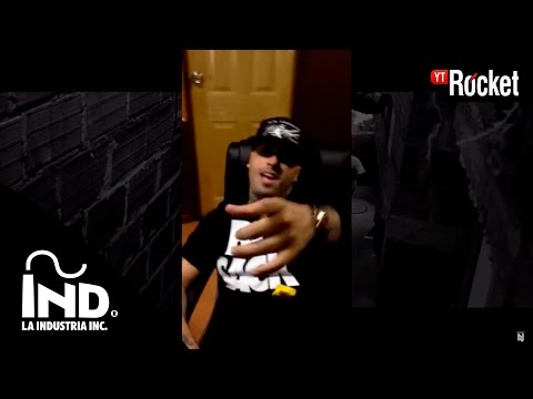 Nicky Jam - Improvisando en su Estudio ( La Industria Inc )