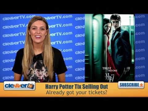 Harry Potter and the Deathly Hallows Tickets Selling Out