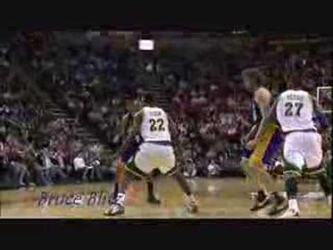The Kobe Bryant ejection game - Kobe ejected vs Sonics 2008
