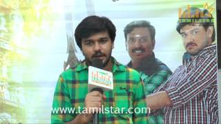 Rakshan At Maanidan Movie Launch