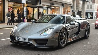 London Supercars 2016: Veyron Super Sport, 918, GT12, GTO, Ford GT...
