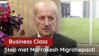Hiddema bij Business Class: Stop de Marrakesh Immigratiedeal