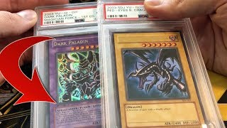 RARE PSA Graded Yu-Gi-Oh Cards that I bought from Goodwill