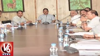 CS SP Singh Holds Review Meet On 14th Finance Commission Grants | Hyderabad | V6 News