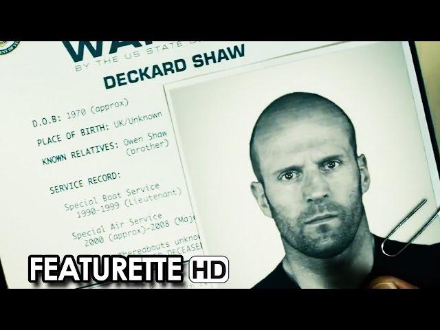 FAST & FURIOUS 7 Featurette 'Jason Statham in azione' sottotitoli in italiano (2015) HD
