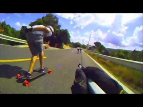 Patinetero Downhill