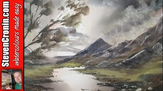 Painting with watercolours the easy way