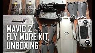 DJI Mavic 2 Fly More Kit Unboxing