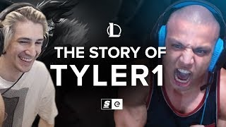 xQc Reacts to The Story of Tyler1 by theScore esports