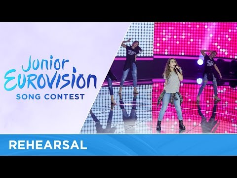 Martija Stanojković - Love Will Lead Our Way (F.Y.R. Macedonia) - First Rehearsal - JESC 2016