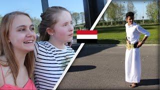 شاب يمني في مدرسه فرنسيه | الاجانب استغربوا من الزي اليمني!!؟