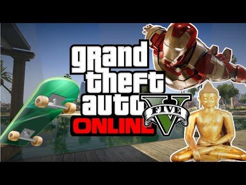 El Buda de Oro Patinetas Volar Y Mas!!! GTA 5 Online Grand Theft Auto V