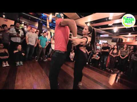 Kuna +Clo - Boston Brazilian Dance Festival 2015 - Zouk Demo