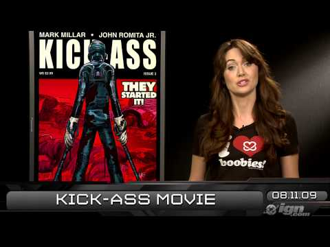 IGN Daily Fix, 8-11: Netflix Info, GRIN News, and Kick-Ass Video