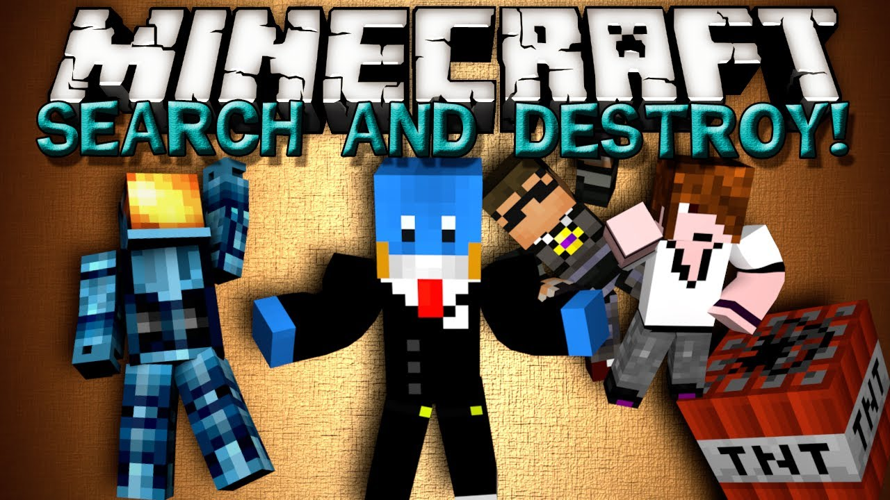 minecraft minigames search and destroy w