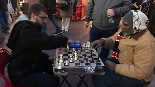 REMATCH: Playing a Union Square Chess Hustler!