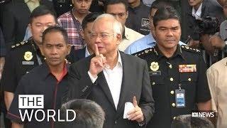 Malaysia's former prime minister Najib Razak faces corruption commission