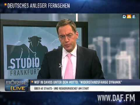 WEF 2013 in Davos - Das DAF ist vor Ort