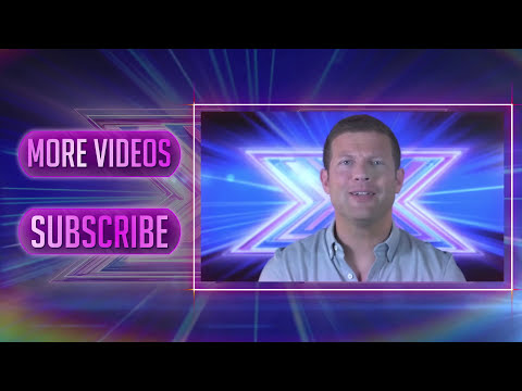 Andrea Faustini takes over for Dermot O'Leary - The X Factor UK 2014