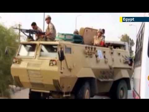 Suicide bomber strikes checkpoint in Sinai: Egyptian Army combating Sinai Islamist insurgency