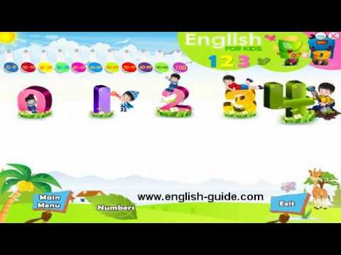 تعليم الانجليزية للأطفال - تعليم الارقام 123