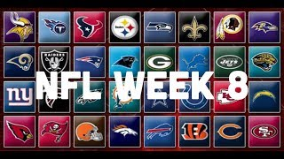 NFL Week 8 Picks & Predictions 2018 | 2019