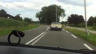 Cadillac coupe de ville on the run