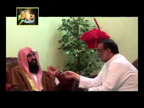 Interview of Atiq ur Rehman Kashmiri in Makkah on Noor TV (Old Deobandi Alim)
