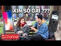 Cầm iPhone X | Nokia 1100i đi xin số gái lạ và kết thúc bất ngờ thumbnail
