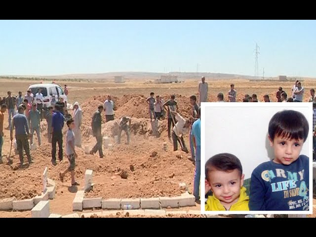 Aylan Kurdi buried alongside brother and mother in Syria