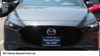2019 Mazda Mazda3 Thousand Oaks CA M9216