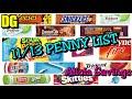 #PennyList #AliciaSavings 11/13 HUGE Penny List ! | Dollar General Penny List 11 / 13