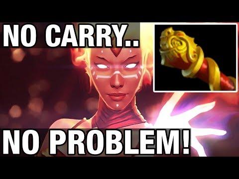 NO CARRY, NO PROBLEM! - Draskyl Plays Lina - Dota 2