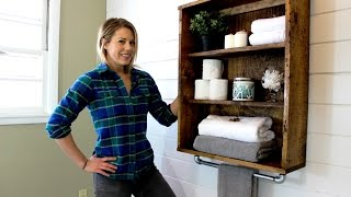 (11.7 MB) The $20 Rustic Bathroom Cabinet - Easy DIY Project Mp3
