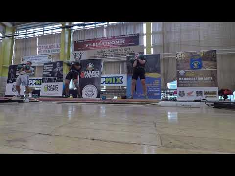 Akos Jaczko & Roland Lamoli Long cycle 2x24kg