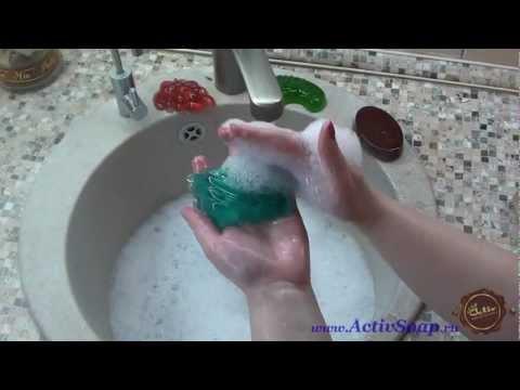 Уникальная желеобразная основа для гибкого мыла от уже известного производи