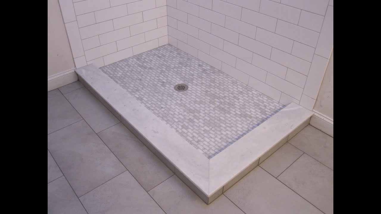 Large subway ceramic tile bathroom youtube for Bathroom designs using mariwasa tiles