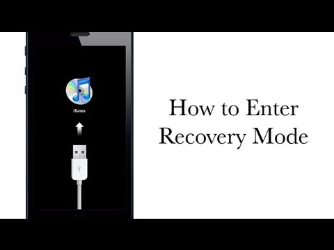 How to Put your iPhone. iPad or iPod touch in Recovery mode