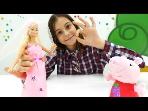 Игры для девочек - Подарок на свадьбу Барби - Видео для девочек