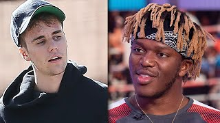 KSI Slams Justin Bieber After Beating Logan Paul