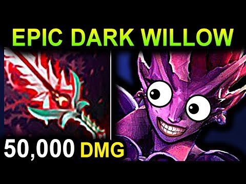 EPIC DARK WILLOW - DOTA 2 PATCH 7.07 NEW META PRO GAMEPLAY